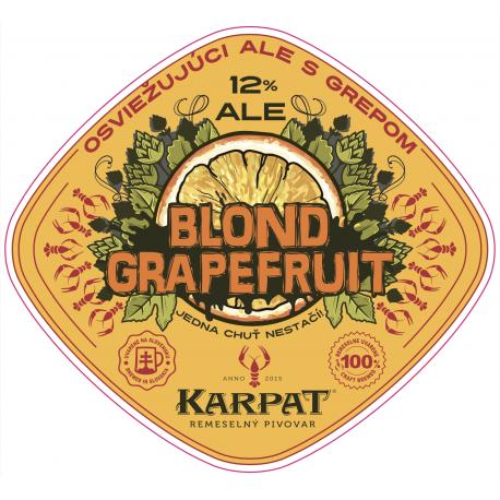 Grapefruit Blond ALE 12 - 0,33l