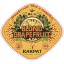Grapefruit Blond ALE